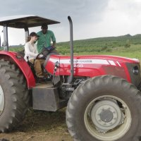 A new tractor for Ivoire Organics