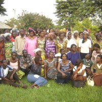 HIV information seminar with members from Ivoire Organics