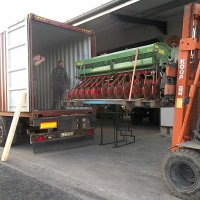 ...and then the seed drill