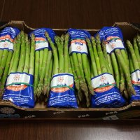 Packaged and fresh: green asparagus from POA