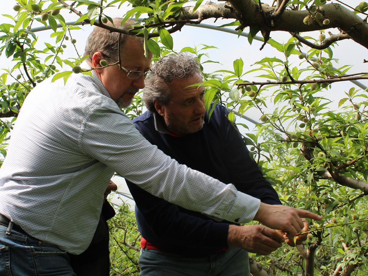 Supplier visit BioTropic: On the road with customers in Italy